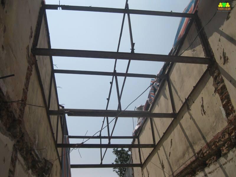 chống văng công trình tại hà nội